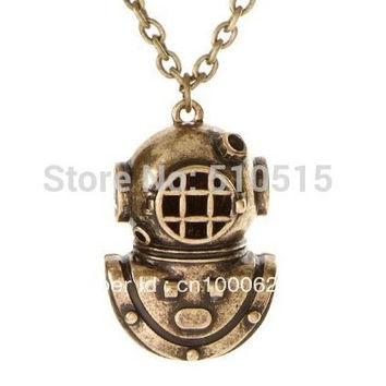 Armor Holy Diver The Sea Diver Diving Helmet Necklace