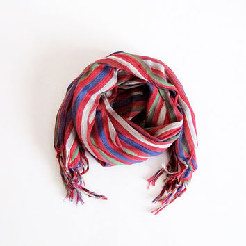 Scarf, scarves, tassel, multicolor, Women's Fashion Accessories, Long, christmas gift, shawl, For Women, Woman scarf, long scarf, striped