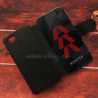 Destiny Hunter Wallet iPhone cases Symbol Samsung Wallet Leather Logo Phone Case