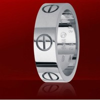 Cartier White Gold Love Ring,cartier rings for men,leve cartier ring prices