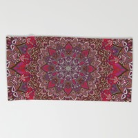 Farah Red Beach Towel by Aimee St Hill