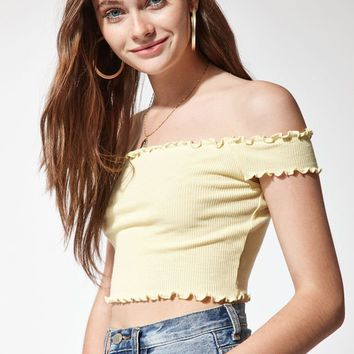 Me To We Over It Off-The-Shoulder Top at PacSun.com