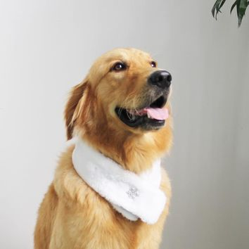 MYIDEA pet new supplies pet accessories diamond both sides are available use Scottish style scarf