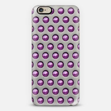 Metallic Drops Pink iPhone 6 case by Alice Gosling | Casetify