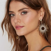 Sun Body To Love Pavé Earrings