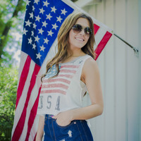 Stars and Stripes Muscle Tank