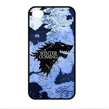 The New Game of Throne Phone Case for Iphone 4S 5 5S 5C 6 6S Plus for Samsung galaxy S3/4/5/6/7 Note 2 3 4 5