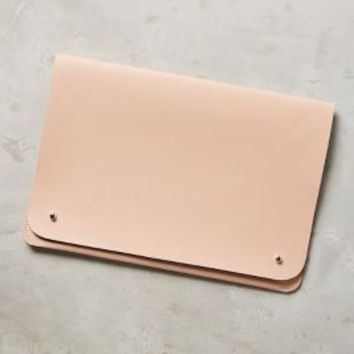 Vegan Leather Tech Case by Anthropologie in Nude Size: