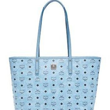 MCM Women's Anya Zip Top Shopper Tote