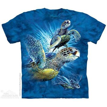 New FIND 9 SEA TURTLES YOUTH CHILD  T SHIRT -