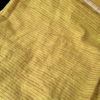 Destash Cotton Fabric Golden Yellow 42 inches by 22 inches