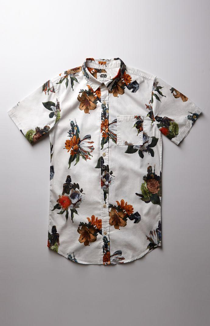 On The Byas Star Wars Floral Woven From Pacsun