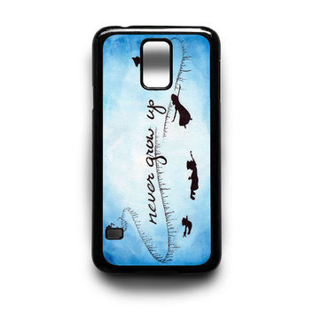 Peter Pan Quote Never Grow Up Samsung S5 S4 S3 Case By xavanza