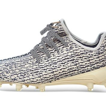 QIYIF ADIDAS YEEZY 350 CLEAT TURTLE DOVE
