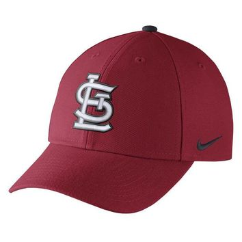 Men's St. Louis Cardinals Nike Red Wool Classic Adjustable Performance Hat