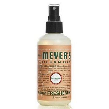 Mrs. Meyer's Clean Day Room Freshener Spray Geranium (6x8 OZ)