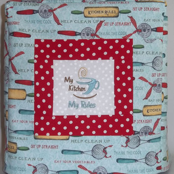 Kitchenaid Mixer Cover - Kitchen Rules