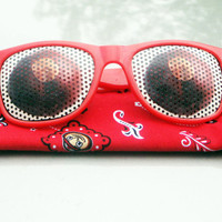 Ohio State Inspired Sunglasses BuckEYE Glasses Tailgating Games Beach Sunny Days