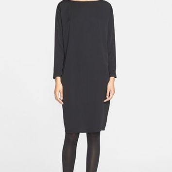 Women's Helmut Lang Stretch Silk Dress,