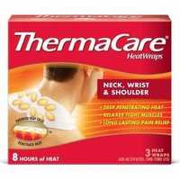 ThermaCare® Air Activated Neck/Wrist/Shoulder Pain Odor Free Therapy Heatwraps - 3ct