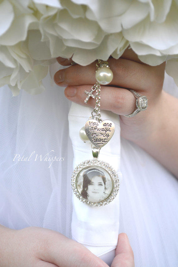 wedding bouquet charm bouquet photo charm bridal bouquet from petal whispers 8446