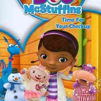 Doc Mcstuffins-Time For Your Check Up (Dvd/Chart/Stickers)