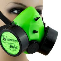 Breaking Bad Respirator Gas Mask Cosplay Pop Meme Culture Costume