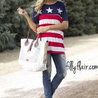 Pre-Order Stars and Stripes Tee