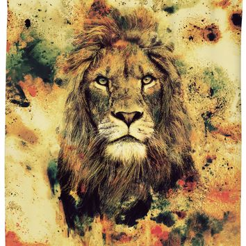 ROSC Lion -The King II Shower Curtain