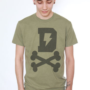 Dirty Logo Olive Tee