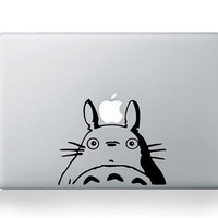 Totoro -- Mac Decal Macbook Stickers Macbook Decals Apple Decal Macbook Pro Sticker Macbook Air iPad Decals