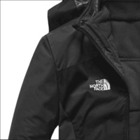 The north face winter men and women two sets of removable waterproof windproof plus cashmere