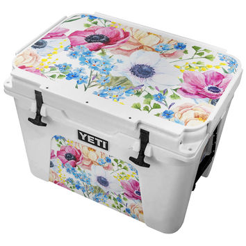 Vintage Floral Clusters Skin for the Yeti Tundra Cooler