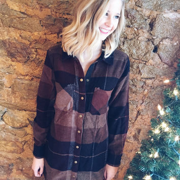 Hay Ride Flannel Tunic