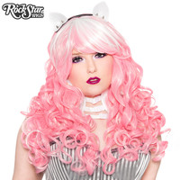RockStar Wigs® Show Girl Collection - Pink White Blend - 00676