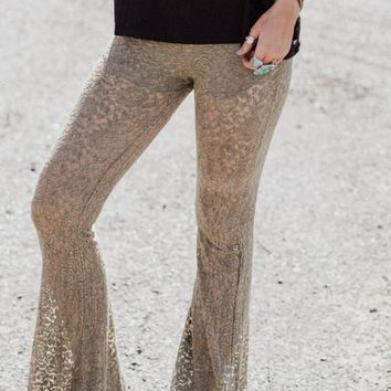 Cher Lace Bell Bottoms