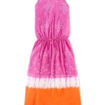 Ralph Lauren Girls' Jersey Tie-Dye Dress
