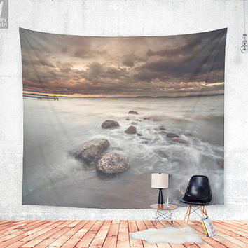 Distress signal Wall tapestry