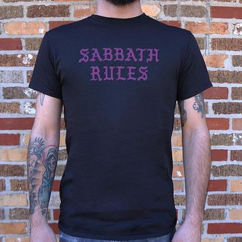 Sabbath Rules T-Shirt (Mens)