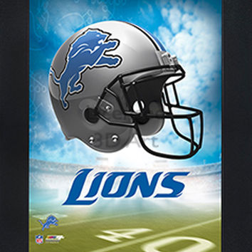 3D Art Officially NFL Licensed Picture - Detroit Lions