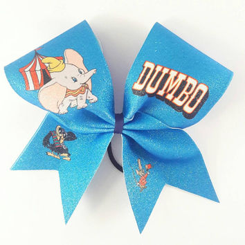 Dumbo Cheer Bow- 3 Inch Texas Size - Cheer Party - Theme Practice - Birthday Gift - Ponytail Accessory