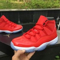 Air Jordan 11 Retro Red 378037 603