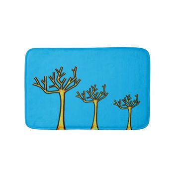 Trees Bath Mat Bath Mats