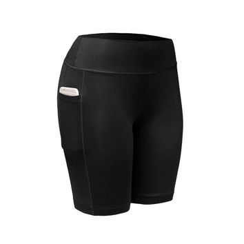 5 Colors Quick Dry Women Sports Shorts Women Elastic Running Fitness Gym Shorts With Pocket Feminino Fitness Workout Shorts