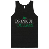 St Patrick's Day Drink Up Hooligans