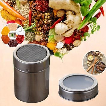 Stainless Steel Magnetic Spice porta tempero Storage Jar Tins Container Rack Holder See-through lids saleiro baharat takimlari