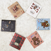 2015 Monopoly Warm and cute toffeenut dated diary