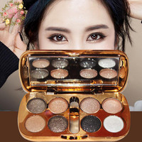 Professional Make Up Palette Maquillage Naked Smoky Glitter Eyeshadow Palette Kat Von D Eye Shadow Palette New Arrival 8 Color