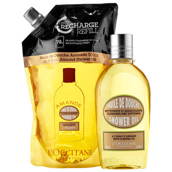 Sephora: L'Occitane : Almond Eco-Refill Combo Pack : body-wash-shower-gel