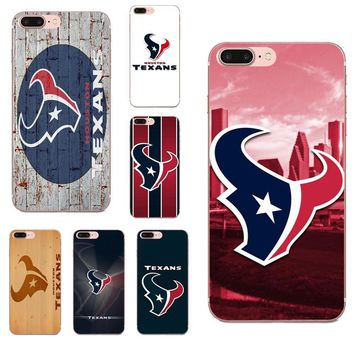 Oedmeb Houston Texans Football TPU Mobile Phone Cases For LG G2 G3 mini spirit G4 G5 G6 K4 K7 K8 K10 2017 V10 V20 V30